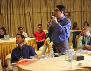 "Question and answer session at the launch of the report ""Women's participation in the subnational governance of Myanmar"""