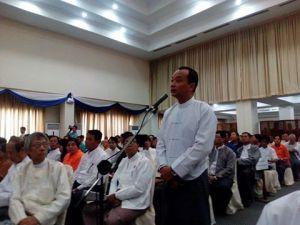 Minimum wage discussions, Yangon, 23 June 2015
