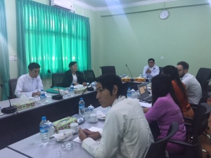 Presentation of enterprise survey preliminary results to MoLES' representatives