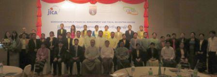 Workshop participants, 17 January 2016