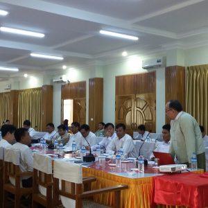 Regional development workshop, Mon State Hluttaw. Image source: Mon State Hluttaw